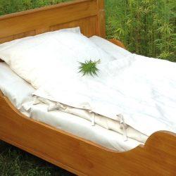 Hanf Bettbezug