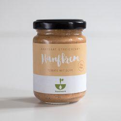 Bio Hanfkrem Tomate Olive