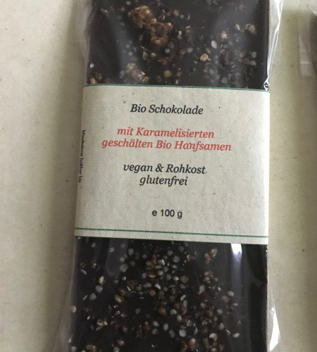 Bio Hanfschokolade
